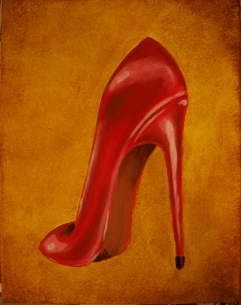 Lush Stiletto in Red